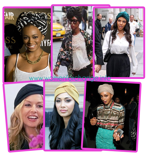 Celebs Rocking Turbans | Women for Change. info Image