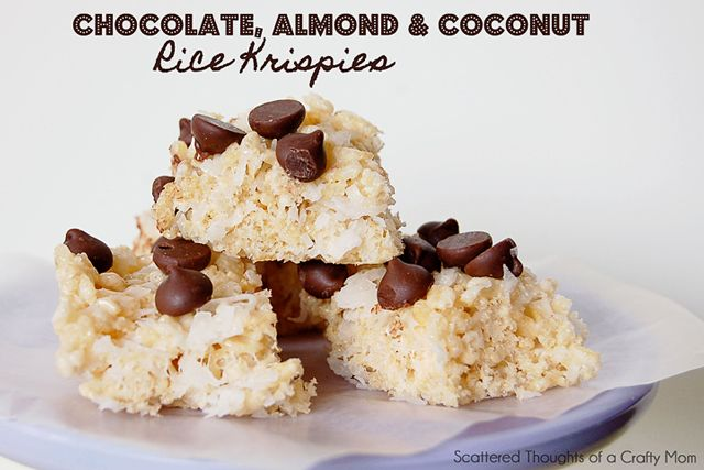 ... New Dessert:: Gourmet Rice Krispy Treats | ENJOYING THE JOURNEYS