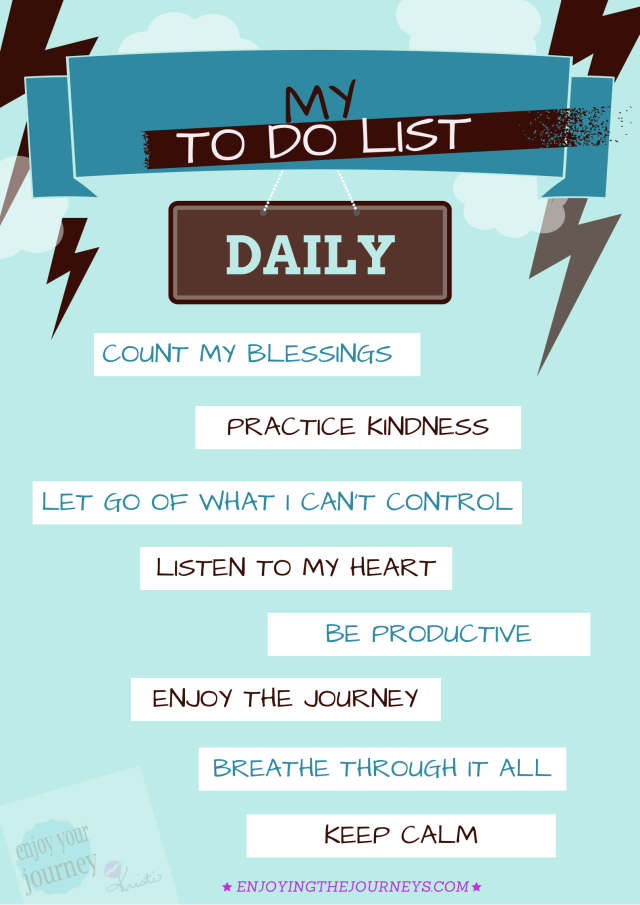 Daily To Do Lists